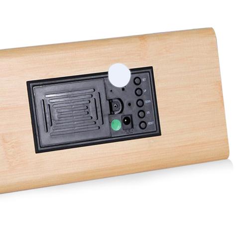 Triangle Wooden Digital Clock