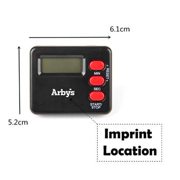 Mini LCD Digital Kitchen Timer
