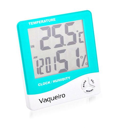 Digital LCD Temperature Alarm Clock