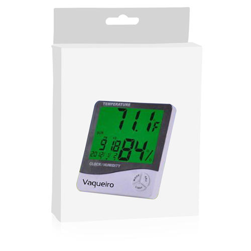 Digital LCD Temperature Alarm Clock Image 7