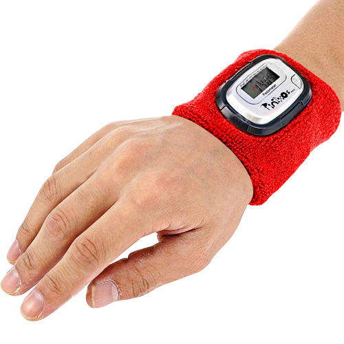 Wristband With Digital Pedometer