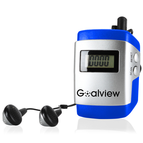 Digital Pedometer With FM Radio
