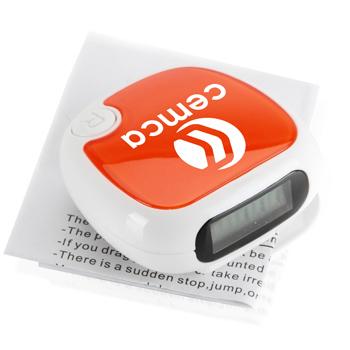 Fashionable FM Radio Digital Pedometer
