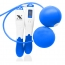 Cordless Ball Jump Rope With Pedometer
