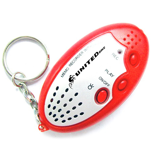 Recordable Sound Keychain With LED Light