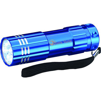 9 LED Aluminum Flashlight