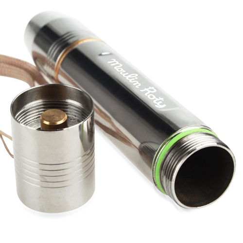 Stainless Steel LED Flashlight