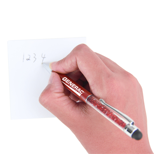 2-In-1 Crystal Rhinestones Stylus Pen