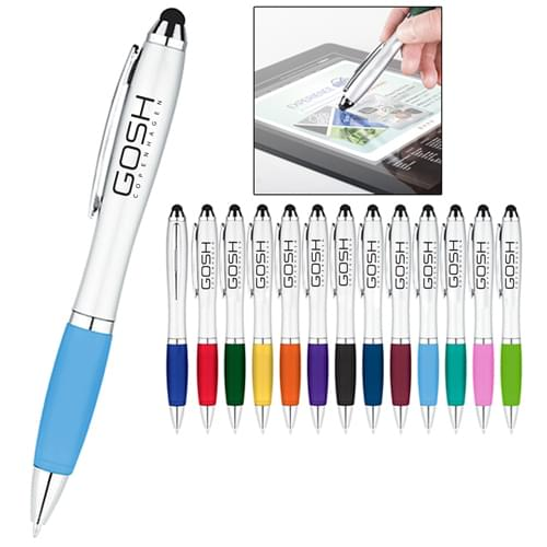 Creative Ballpoint Pen With Stylus