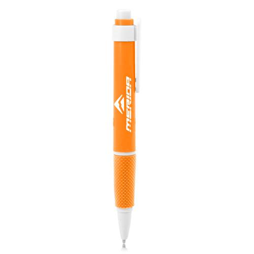 Retractable Textured Grip Ballpoint Pen
