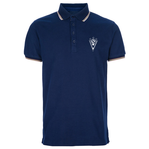 Trimmed Golf Polo Shirt Image 1