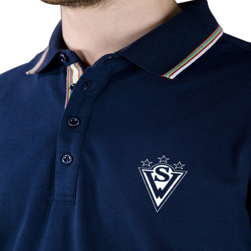 Trimmed Golf Polo Shirt Image 4