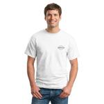 Short Sleeve Pique Cotton T Shirt