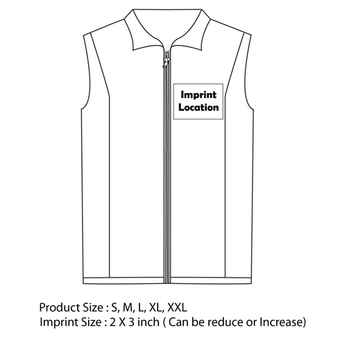 Waterproof Nylon Sleeveless Vest