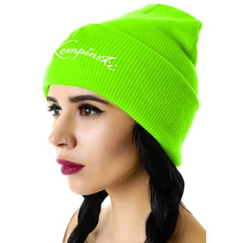 Unisex Knitted Acrylic Beanie