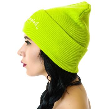 Unisex Knitted Acrylic Beanie