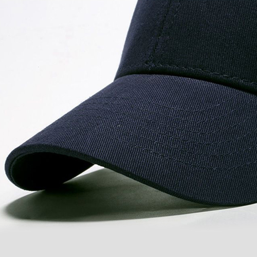 Cotton Baseball Cap With Metal Clasp Image 7