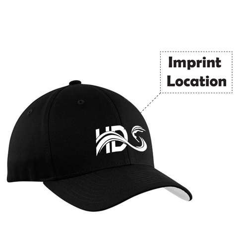 Cotton Baseball Cap With Metal Clasp Imprint Image