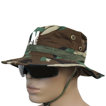 Camouflage Cotton Boonie Bucket Hat