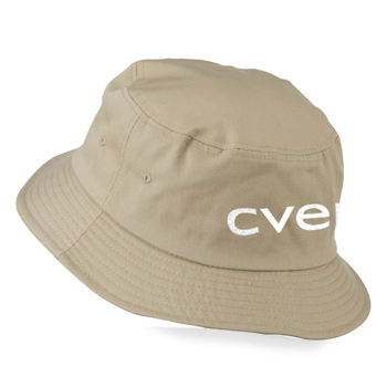 Cotton Polyester Blend Twill Bucket Hat