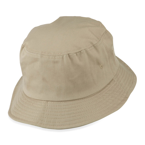 Cotton Polyester Blend Twill Bucket Hat Image 2