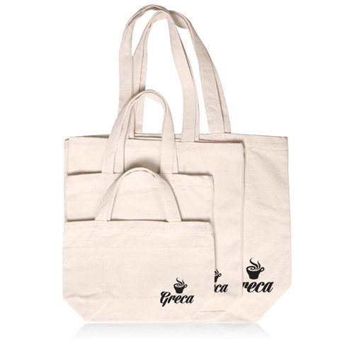 Thick Canvas Shopping Bag