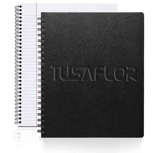 Hardcover Spiral Lined Notebook
