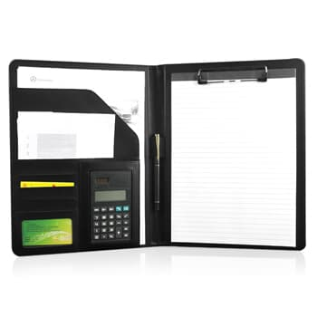 A4 Executive Leather Folder With Calculator