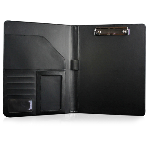 A4 Executive Leather Folder With Calculator Image 2