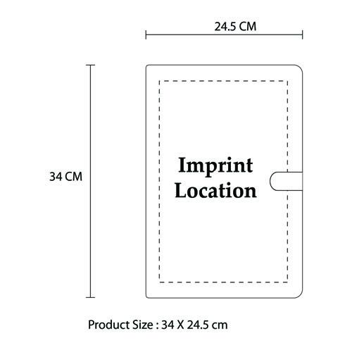 A4 Executive Leather Folder With Calculator