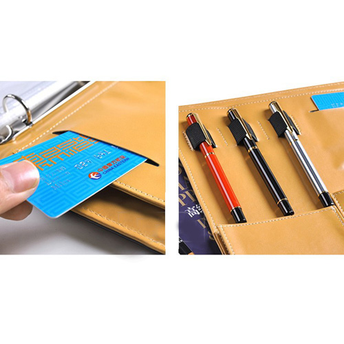 Multifunction Executive Leather Portfolio Image 9