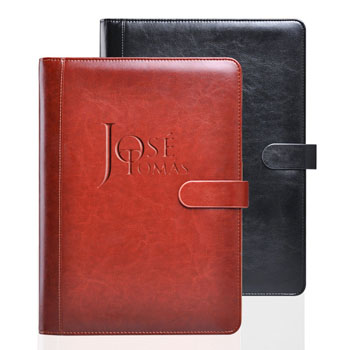 Multifunction Executive Leather Portfolio