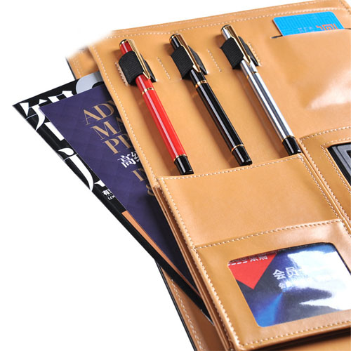 Multifunction Executive Leather Portfolio Image 5
