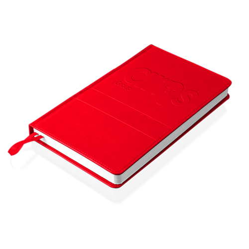 Leather Cover Diplomat Notebook