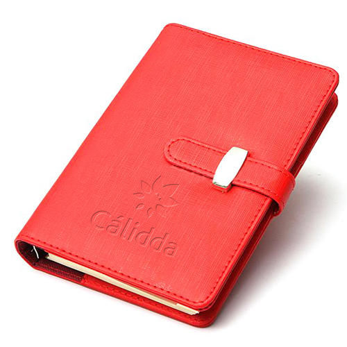 Loose-Leaf Leather Notebook