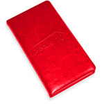 Smooth Leather Ruled Journal