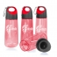 Sports Hydration Water Bottle with Carabiner Clip