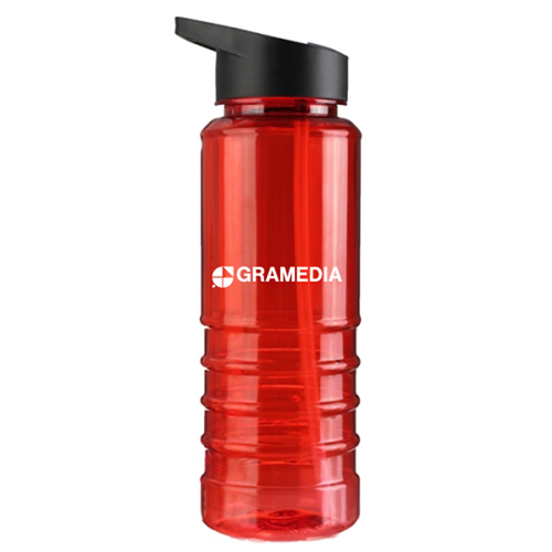 750ML Tritan Sports Bottle With Straw Image 1