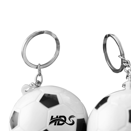 Football Shaped Keychain With Mini Pen Image 9