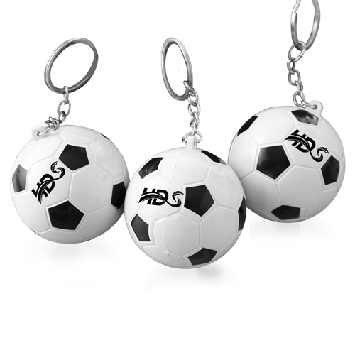 Football Shaped Keychain With Mini Pen Image 2