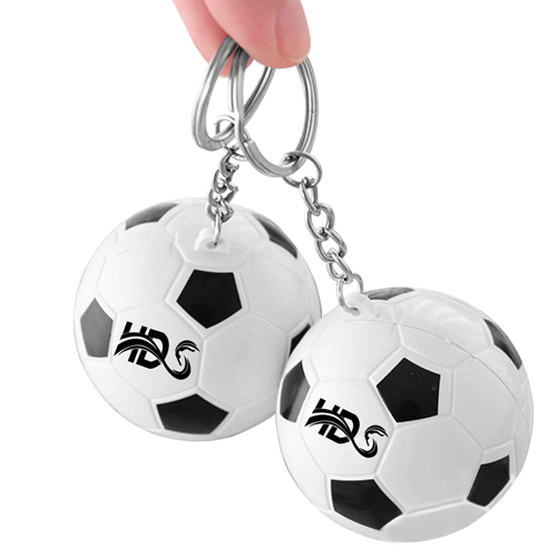 Football Shaped Keychain With Mini Pen Image 3