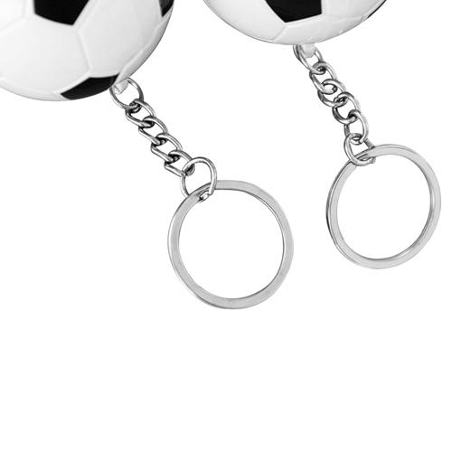 Football Shaped Keychain With Mini Pen Image 6