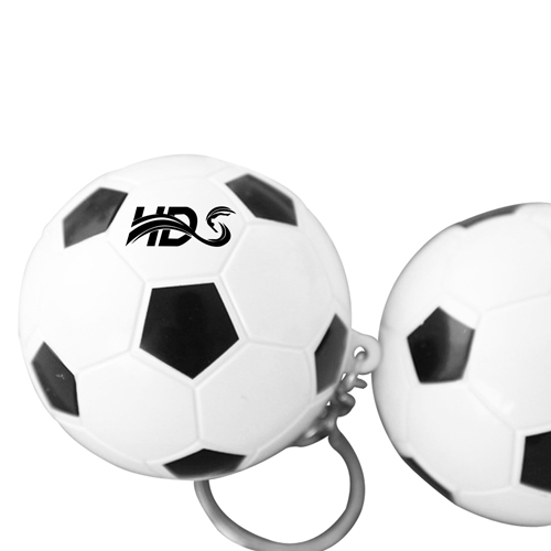 Football Shaped Keychain With Mini Pen Image 7