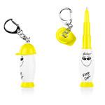 Light Folding Pen Keychain