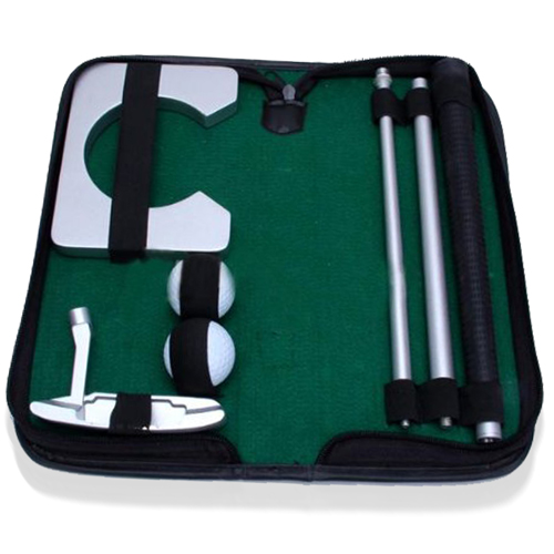 Executive Portable Indoor Golf Putter Set