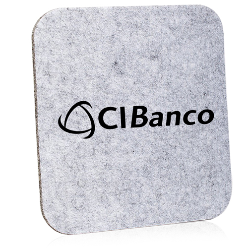 Rectangular Felt Mouse Pad Image 2