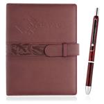 Executive Leather Portfolio With Pen