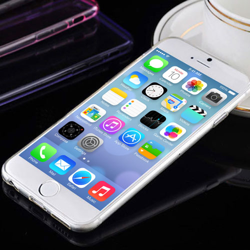Silicone Soft Protective iPhone Case Image 7