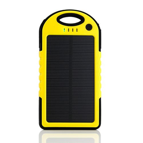 5000mAh Solar Charger Power Bank Image 1