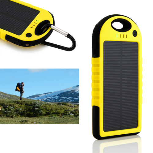 5000mAh Solar Charger Power Bank Image 3